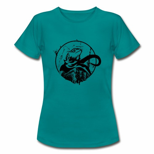 Bearded Dragon - Frauen T-Shirt