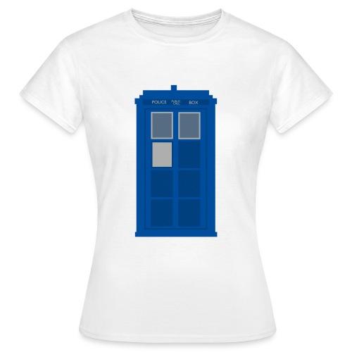 T.A.R.D.I.S. Design - Women's T-Shirt