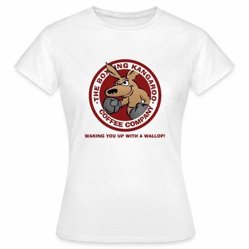 Boxing Kangaroo Coffee Company - Women's T-Shirt
