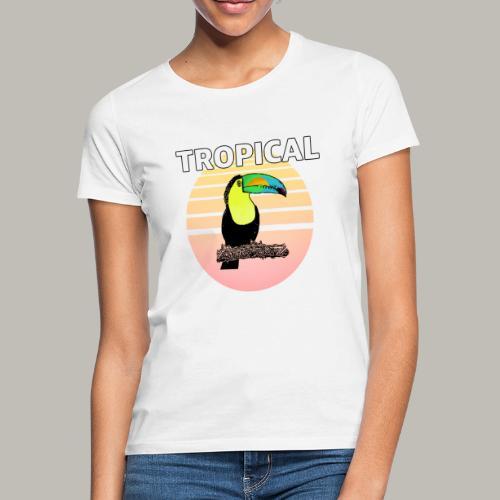 Toucan in the sun - T-shirt Femme