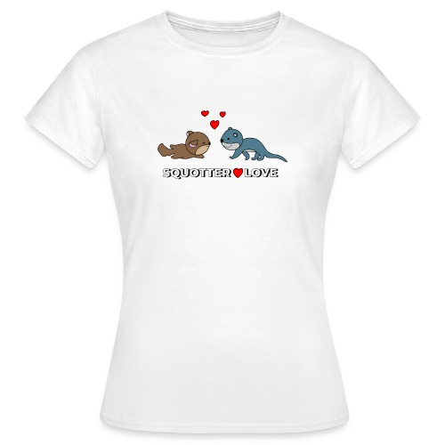 otter squirrel shirt - Vrouwen T-shirt