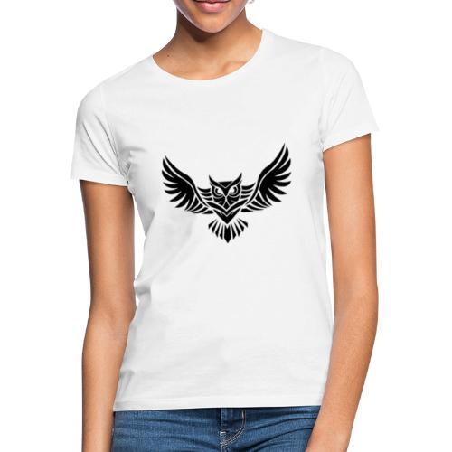 Hampan kläder owl - T-shirt dam