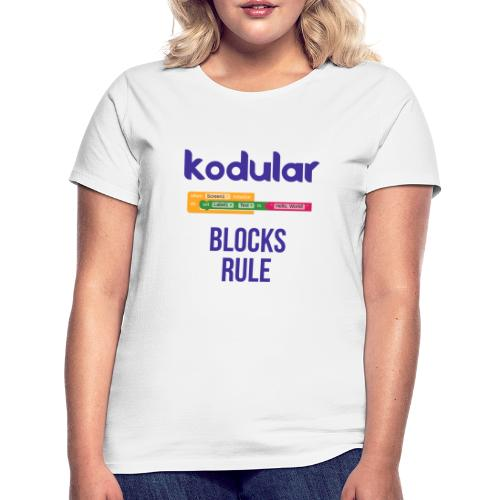 Blocks Rule - Women's T-Shirt