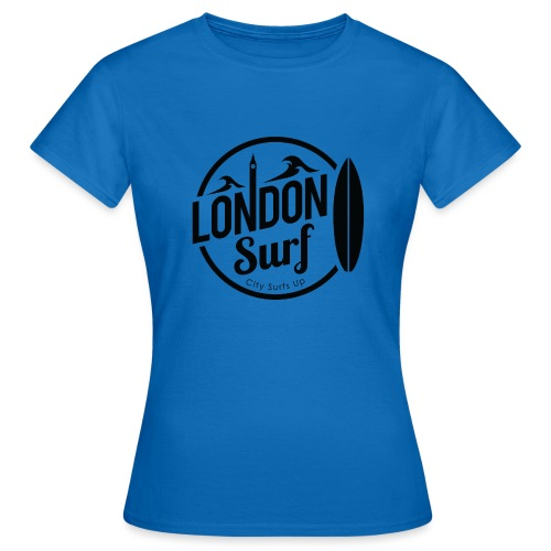 London Surf - Black - Women's T-Shirt
