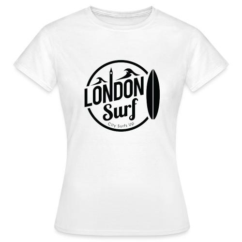 London Surf - Black - Women's T-Shirt