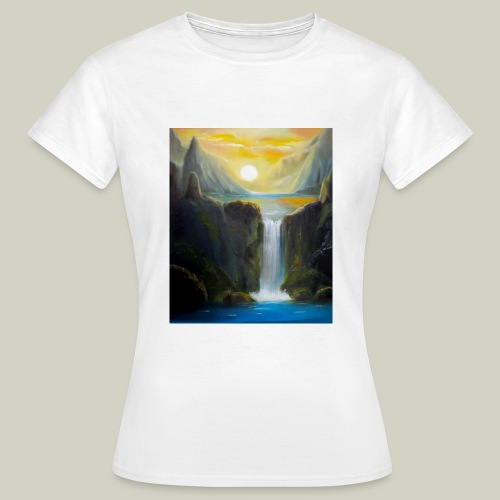 Waterfall - Frauen T-Shirt