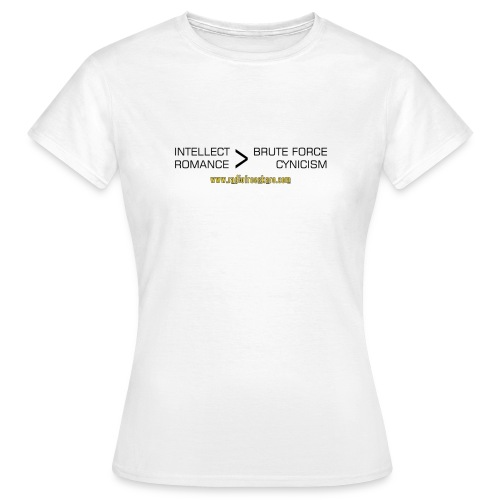 shirt intellect - Women's T-Shirt