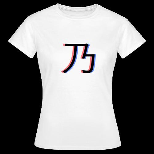 3D Logo - Dame-T-shirt