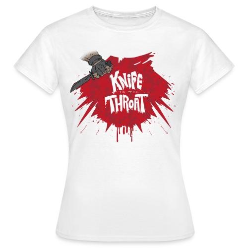 knifesmall2 - Women's T-Shirt