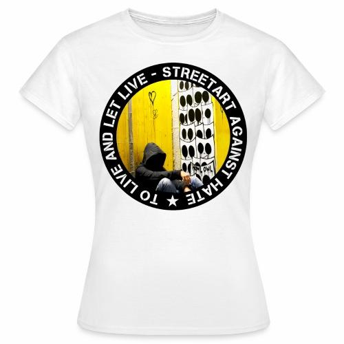 No hate family - by Eulen Heulen (CH) - Frauen T-Shirt