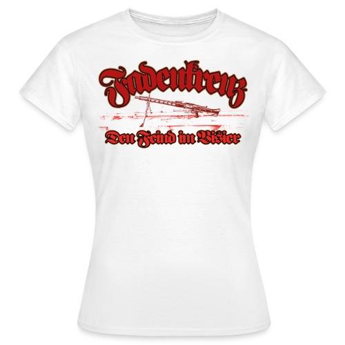 Fadenkreuz - Frauen T-Shirt