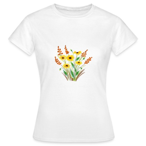 Blumen-Power - Frauen T-Shirt