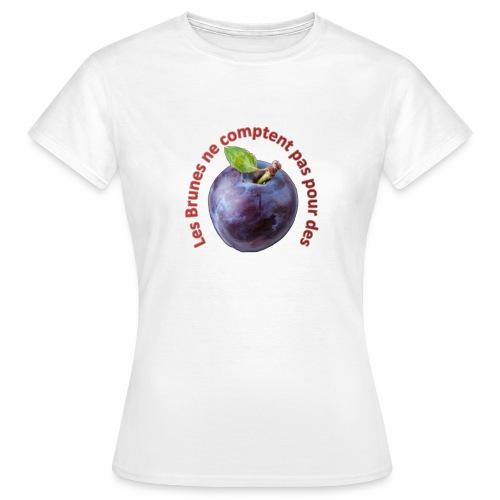 transp_rouge - T-shirt Femme