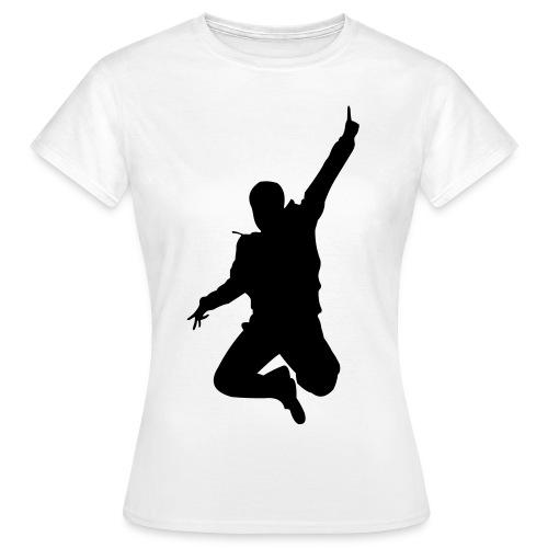 Jumping Man - Frauen T-Shirt