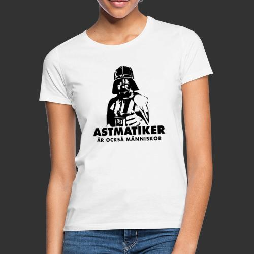 Astmatiker är också människor - T-shirt dam