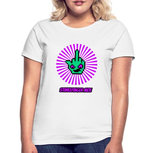 Round Logo mit Name - Frauen T-Shirt