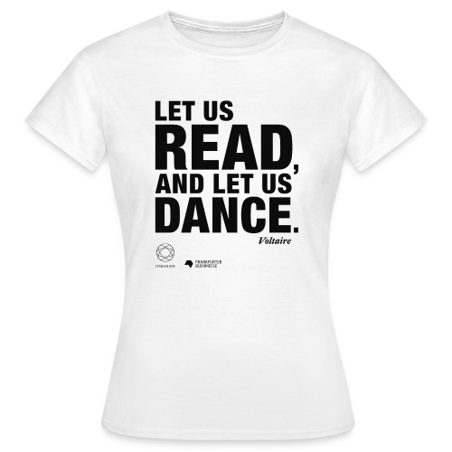 LET US READ | Bookish Merch - Frauen T-Shirt