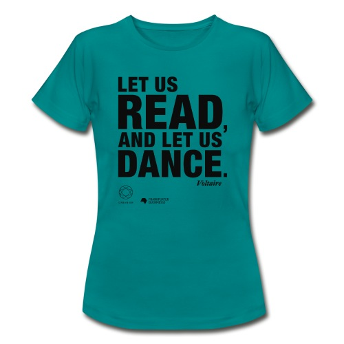 LET US READ | Bookish Merch - Frauen T-Shirt