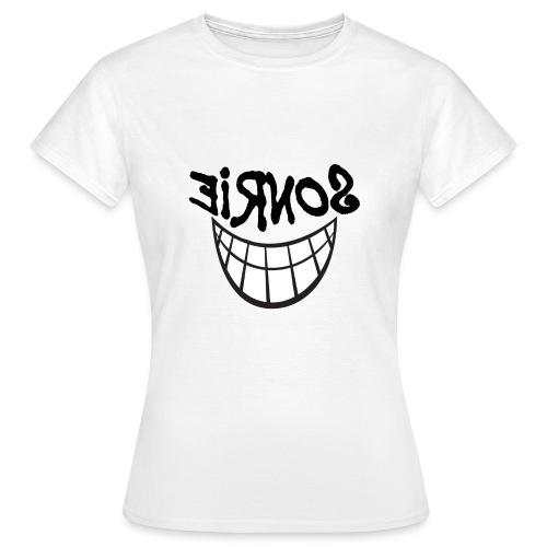 Para el Espejo:Sonrie 01 - Camiseta mujer