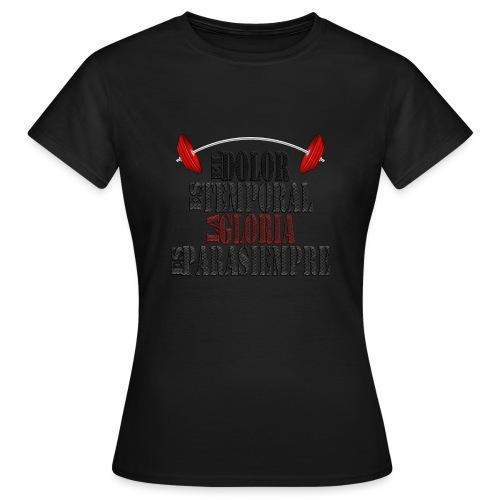 GYM - DOLOR TEMPORAL - Camiseta mujer