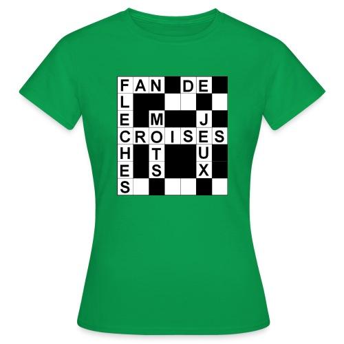 Fan de mots croisés - T-shirt Femme