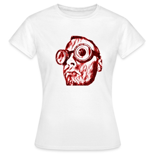 Face Tegner Red Grande - Dame-T-shirt