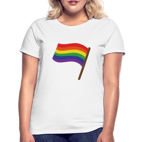 Regenbogenfahne | Geschenk Idee | LGBT - Frauen T-Shirt