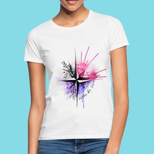 Kompass Watercolor - Tattoos by Lena - Frauen T-Shirt