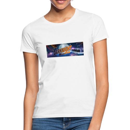 Darknightradio logo - Maglietta da donna