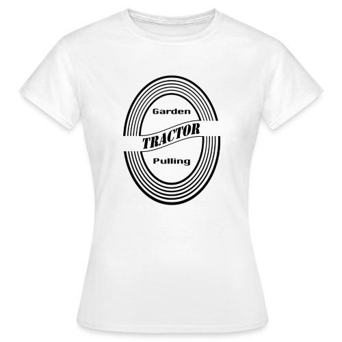børn Garden tractor pulling - Dame-T-shirt
