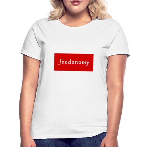 Foodonomy Logo - Maglietta da donna