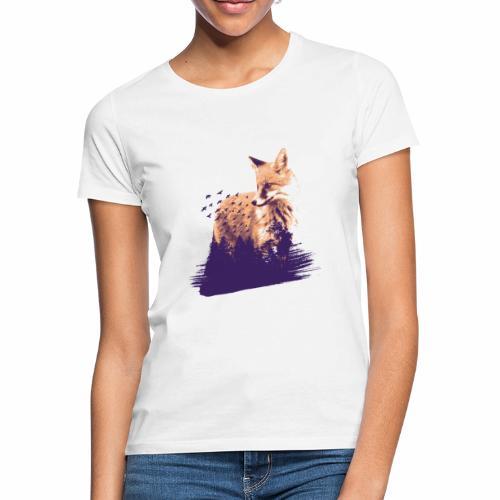 Fox forest - Frauen T-Shirt