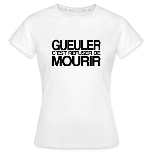 GUEULER - T-shirt Femme