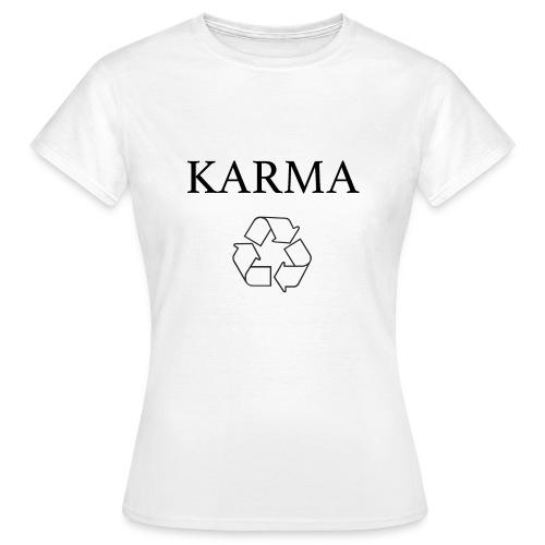 Karma Recycle - Koszulka damska