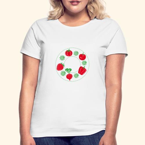 Frutos rojos del huerto - Camiseta mujer