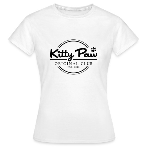 Kitty Paw Club - Dame-T-shirt