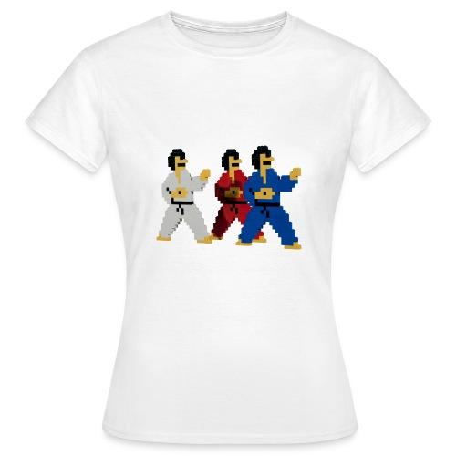 8 bit trip ninjas 1 - Women's T-Shirt
