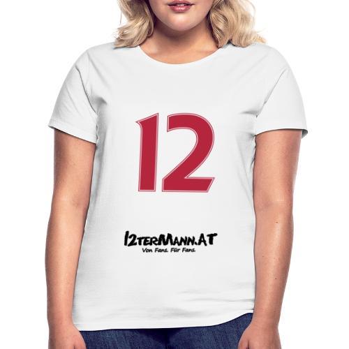 12termann mitfans - Frauen T-Shirt