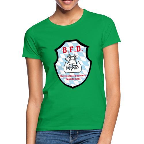 Inoffizielles bayrisches Feuerwehrabzeichen - Frauen T-Shirt