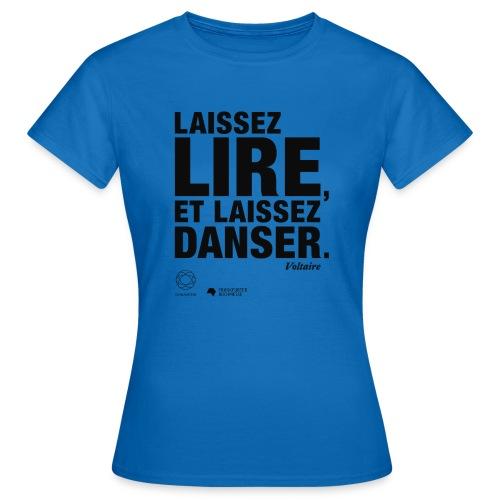 LAISSEZ LIRE | Bookish Merch - Frauen T-Shirt
