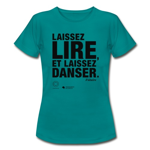 LAISSEZ LIRE | Bookish Merch - Frauen T-Shirt