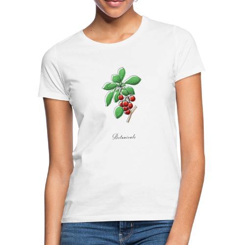 Disegno ramo di ciliegie - Maglietta da donna
