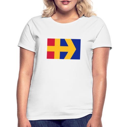 Åbolands flagga - Naisten t-paita