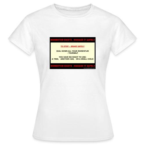 06_M-brakechild_WP565_shp - Women's T-Shirt