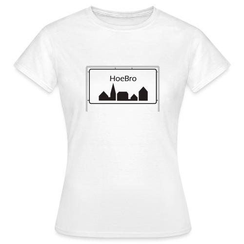 Hoebro - Dame-T-shirt
