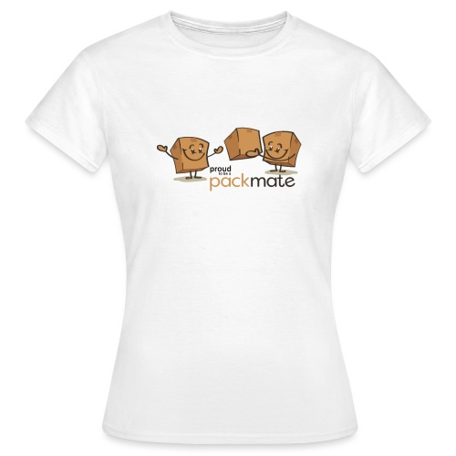 proud packmate - Frauen T-Shirt