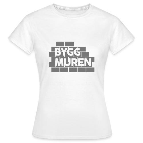 Bygg muren - T-shirt dam