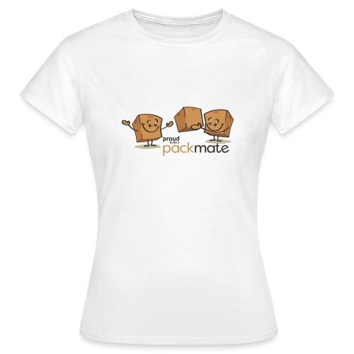 proud packmate - Frauen T-Shirt