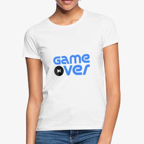Game Over (Blue) - Women's T-Shirt