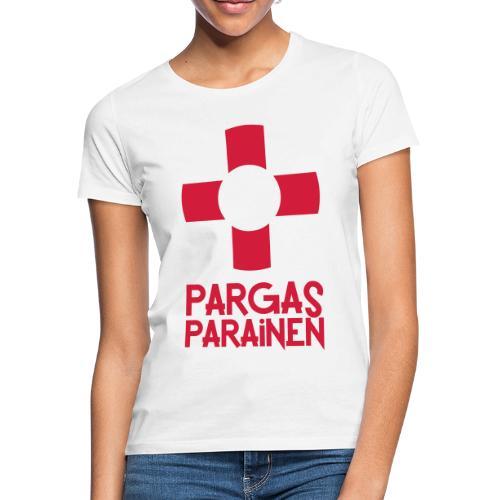 Livboj: Pargas (röd text) - Naisten t-paita